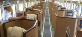 Kereta Api 'Sleeper' Sekelas Bisnis di Pesawat Diluncurkan Besok