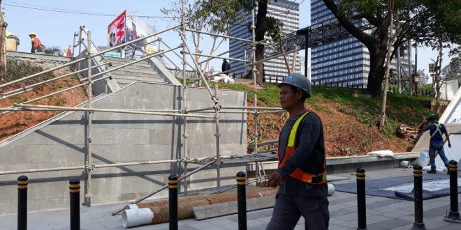 Jalan Baru untuk Penumpang dari Stasiun Sudirman