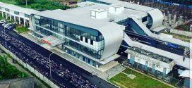 Stasiun Cisauk yang Megah