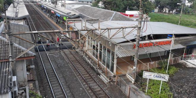 Terowongan Stasiun Cawang Segera Operasi
