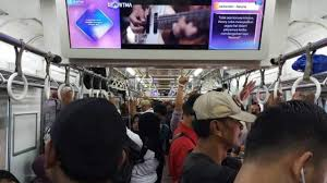 TV Digital Commuterline yang Berisik