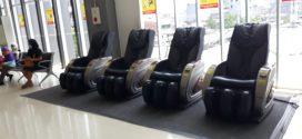 Kursi Pijat di Stasiun Duri. Murah Meriah