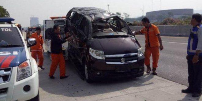 Kecelakaan di Jalan Tol Jagorawi Tewaskan tiga orang