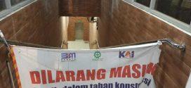 Horee, Terowongan Penyeberangan Stasiun Pancasila Sudah Jadi